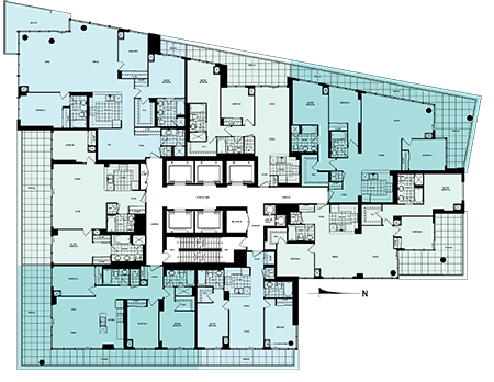 33 Bay st floor plan