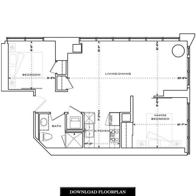 Curtain Wall Floor Plan Decorate The House With