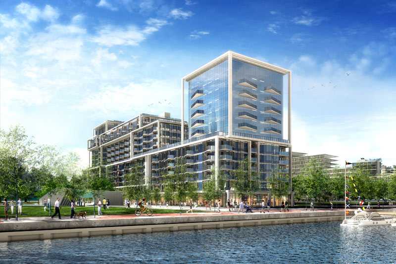 Aqualina on Queens Quay East