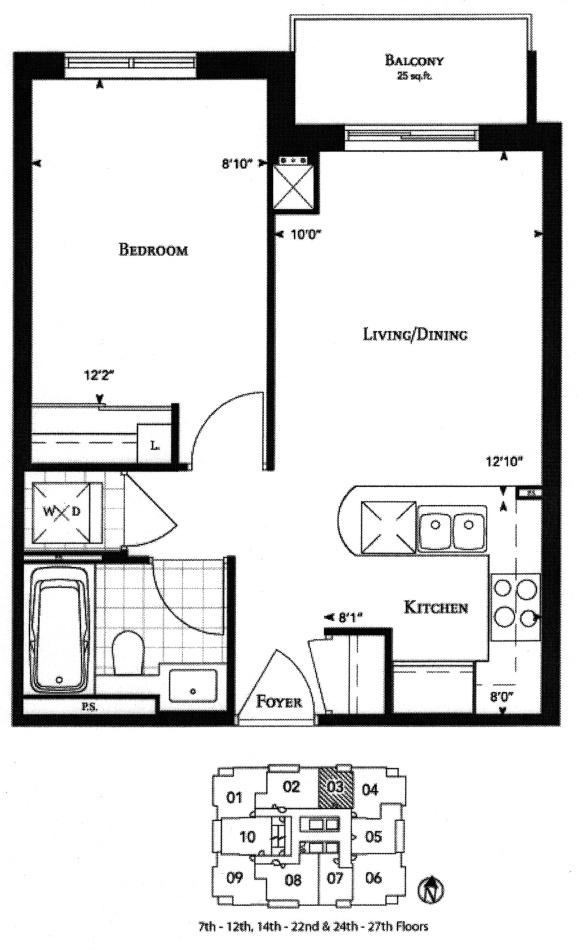 35 Balmuto St Toronto Uptown Residence